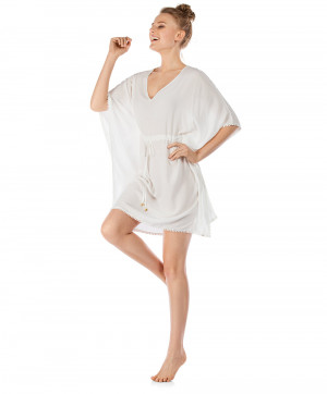 Tunique de Plage Summer Loungewear Skiny Ivory