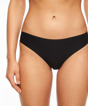 String taille basse Chantelle Soft Stretch noir C26490 011